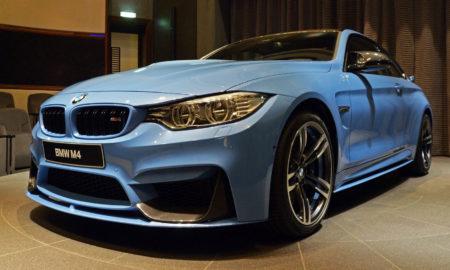 BMW M4 Yas-Marina Blue