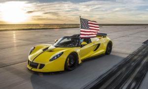 Hennessey Venom GT Spyder rekor (2016)