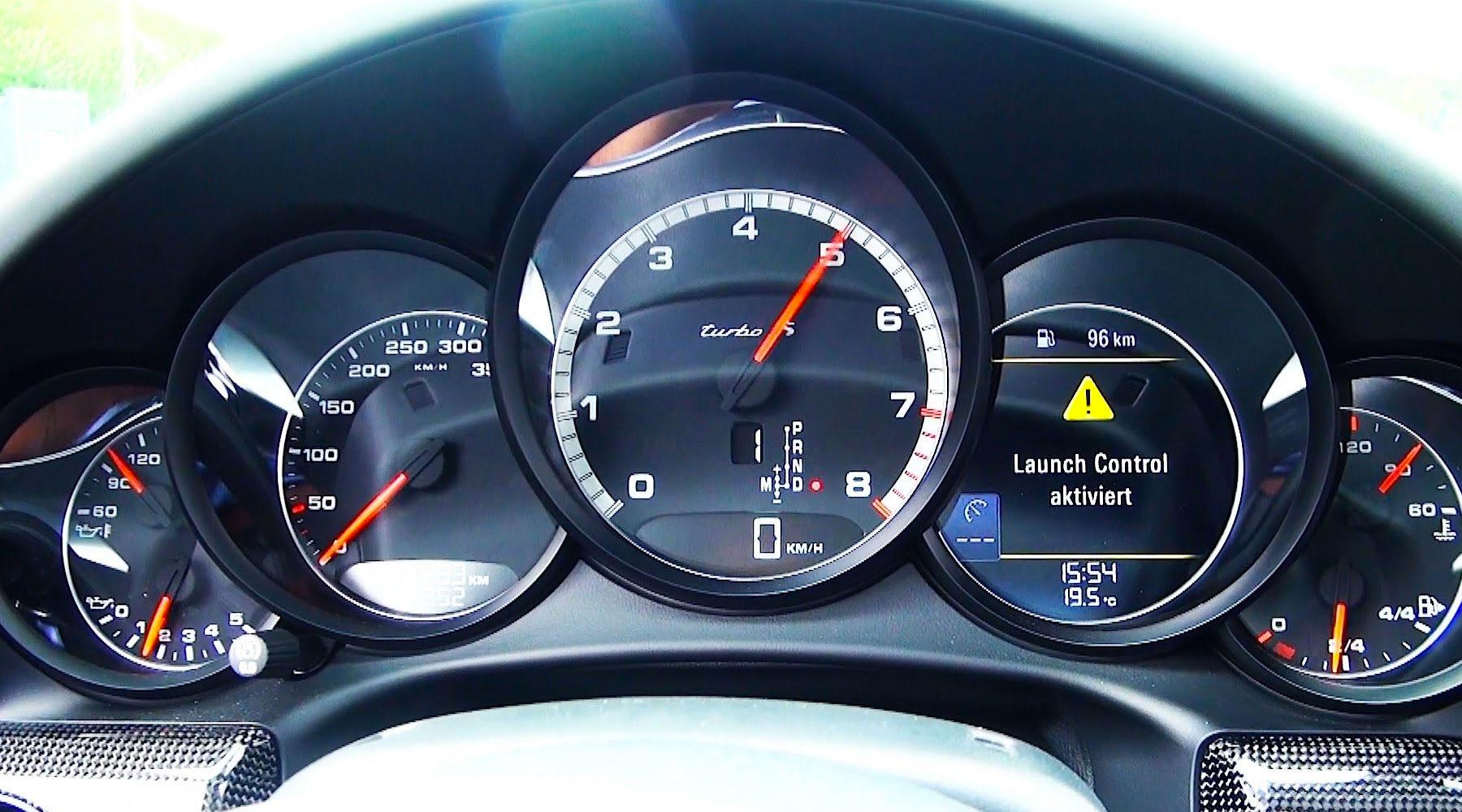 Otomobillerde Launch Control